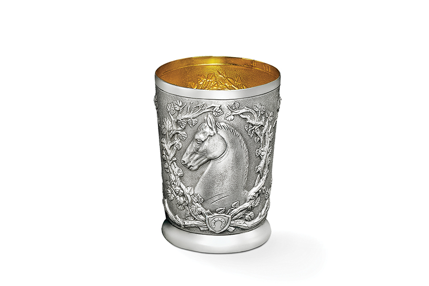Single Horse Julep Cup
