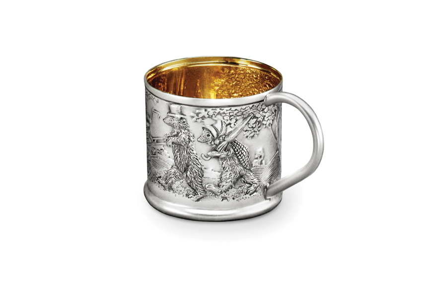 Galmer Silver Bear Fairy Tale Baby Cup