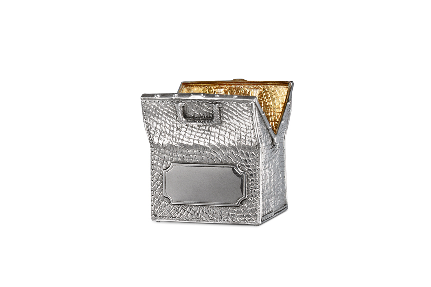 Galmer Silver Card Holder
