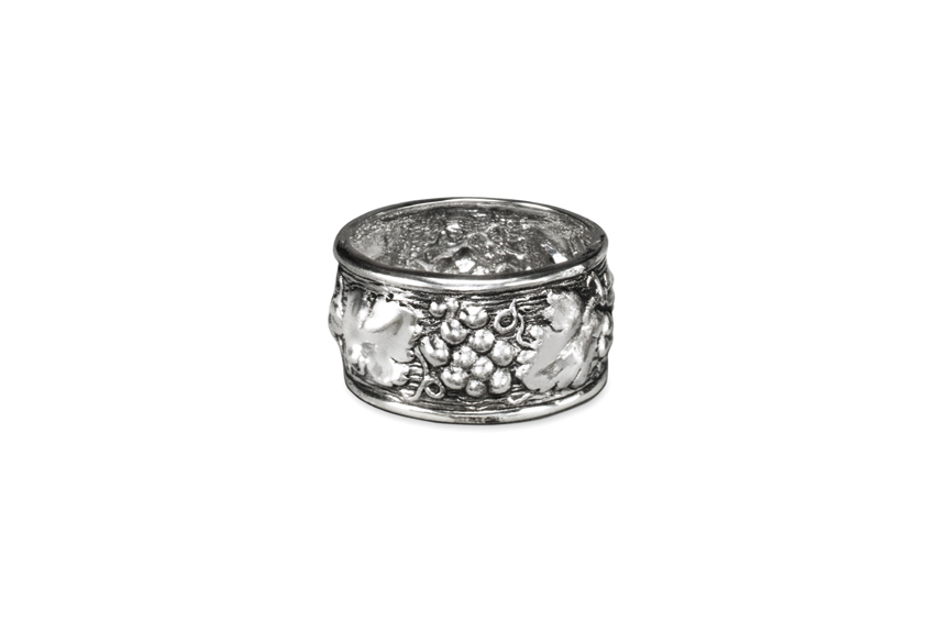 Galmer Silver Grape Napkin Ring